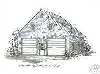28x28 cabin w loft plans package on popscreen for 30x40 garage package