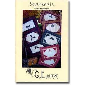 Seasonals Placemat & Table Runner Pattern