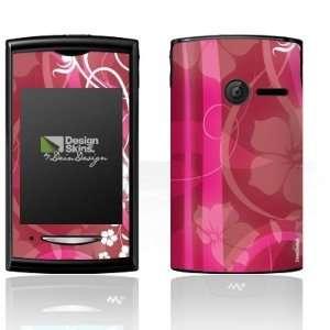 Design Skins for Sony Ericsson Yendo   Pink Flower Design