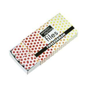 Hot For Dots Matchbox Itty Bitty Files, Red, Orange and Yellow (Pack