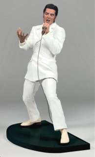 Elvis Presley ® WHITE SUIT Figure Microphone & Stage!!!
