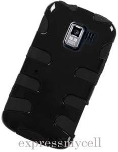 BK FISHBONE Impact Case Cover NET 10 Straight Talk LG OPTIMUS Q