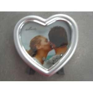 FRG8309 Heart Shaped Frame With Floating Rhinestones