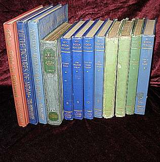 Vintage Childrens Story Books My Book House 12 book Lot