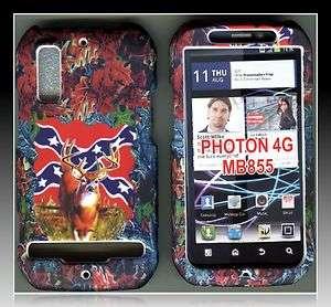 MOTOROLA Photon 4G Electrify rubberized cover rigid case cover como
