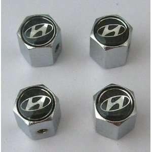 Hyundai Anti theft Car Wheel Tire Valve Stem Caps