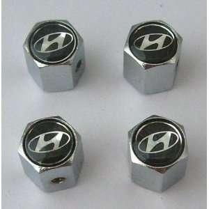 Hyundai Anti theft Car Wheel Tire Valve Stem Caps