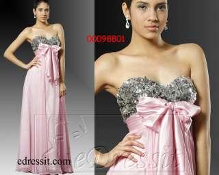 Edressit Rosa Ballkleid Abendkleid Lang Gr34 Gr46