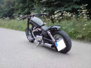 SUZUKI INTRUDER VS 800 BLACK CUSTOM CHOPPER in Hessen   Kassel
