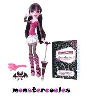 NEU 1.Edition Monster High Draculaura mit Fledermaus Count Fabulous