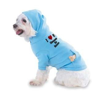 I Love/Heart Chesapeake Bay Retriever Hooded (Hoody) T