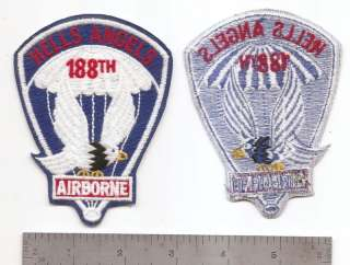 073 US ARMY 188TH AIRBORNE INFANTRY REGIMENT PATCH