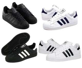 Adidas Superstar II Weiß Schwarz Blau Grün 36 48 NEU