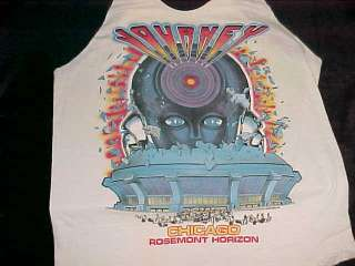 1983 Chicago JOURNEY FRONTIERS World Tour T Shirt Large