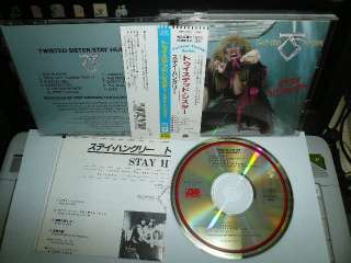TWISTED SISTER STAY HUNGRY 1984 JAPAN CD OBI 18P2