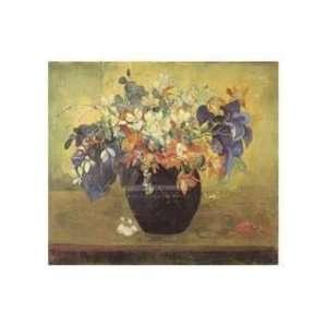 Paul Gauguin   Vase Of Flowers, 1896 Canvas