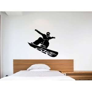 Snowboard Vinyl Wall Art Decal Sticker