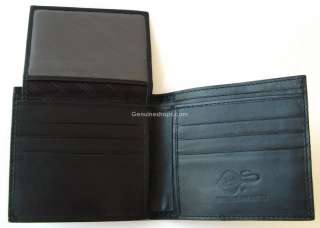 GENUINE STINGRAY LEATHER w/ROW WALLET CLASSIC BLACK NEW