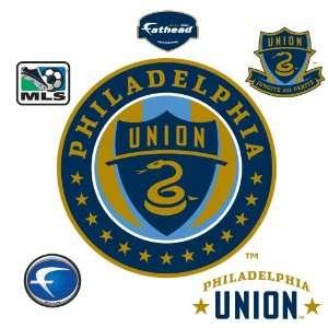 MLS Philadelphia Union Logo Wall Graphic Sports