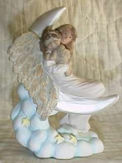 Dreamsicles HUSH LITTLE BABY Angel Mom Figurine 1995 o0
