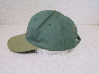 Ducks Unlimited Embroidered Hat Ball Cap Green Olive DU