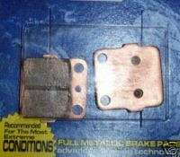 POLARIS TRAIL BOSS 325 REAR BRAKES BRAKE PADS 325 00 02