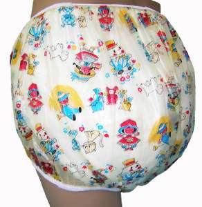 Baby Plastic Pants, Adult Sizes Storytime Bedwetter