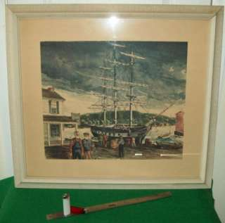 LISTED ARTIST, H.GILBERT FOOTE, LIMITED ED. LITHOGRAPH