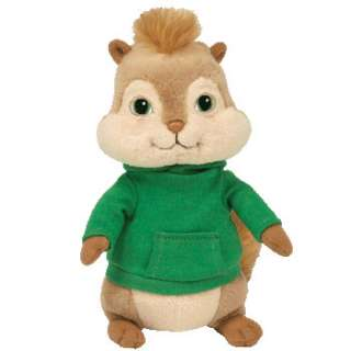 THEODORE the CHIPMUNK   TY BEANIE BABY (ALVIN MOVIE)