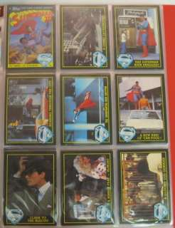 1978 Topps Superman The Movie Complete Trading Card Set Series 1 3
