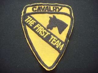 Nam War Patch US 1st Cavalry Division THE FIRST TEAM