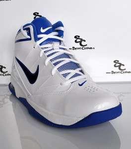 Nike Air Team Hyped II 2 mens basketball shoes white blue black