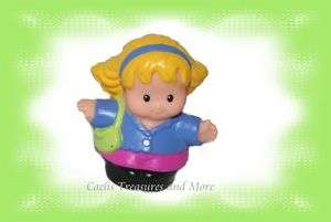 Fisher Price Little People MOM Mother Green Purse VHTF