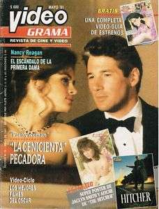Chile 1991 Revista VideoGrama   Jaclyn Smith poster