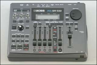 Boss BR 532 Digital 4 Track Recording Studio ft. 32 Virtual Tracks