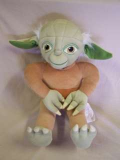 Large Plush Star Wars Yoda Doll 19 Lucas Film LTD
