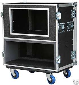 ATA CASE FOR Peavey 6505 Head with 6 SPACE RACK 3/8