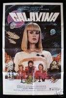GALAXINA 1SH ORIG MOVIE POSTER DOROTHY STRATTEN STYLE B