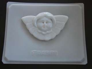 ANGEL Victorian face SOAP CHOCOLATE Candy Mold