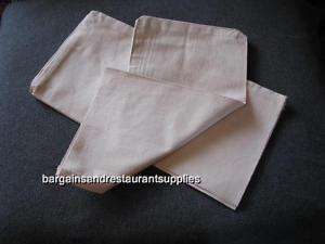 Two Canvas Bank Coin Bags Plain 12 X 19, new