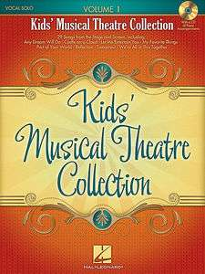 Kids Musical Theatre Collection Volume 1   Book & CD