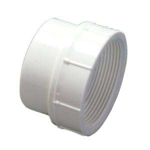 NIBCO 2 in. PVC DWV Street Spg x FIPT Female Adapter C4803 2 at The