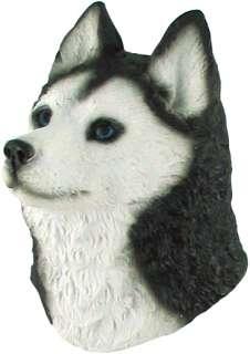 Siberian Husky Dog (Head) High Quality 3D Fridge Magnet