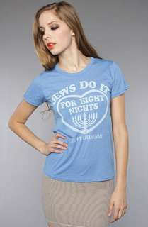 Junkfood Clothing The Jews Do It For Eight Nights Tee  Karmaloop