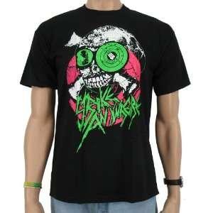 Skull Target Eye Band T Shirt, black  Sport & Freizeit