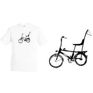 Bonanza Fahrrad T Shirt california sun weiss / schwarz