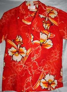 VINTAGE HAWAIIAN BARK CLOTH SHIRT~CLOTH TAG~MED~A++