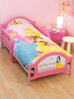 DISNEY PRINCESS BEST WISHES JUNIOR TODDLER COT SAFETY BED HEADBOARD