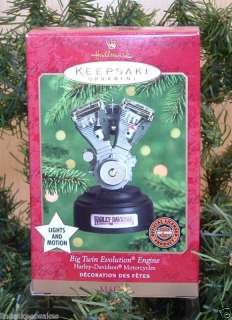 ornament HARLEY DAVIDSON BIG TWIN EVOLUTION ENGINE never used