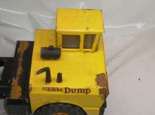 Old Vtg Mighty TONKA Dump Truck All Metal Vehicle Toy